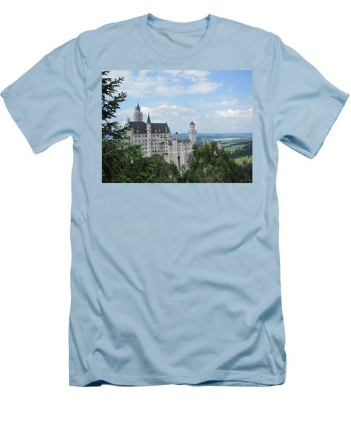 Men's T-Shirt (Slim Fit) featuring the photograph Fairytale Castle by Pema Hou