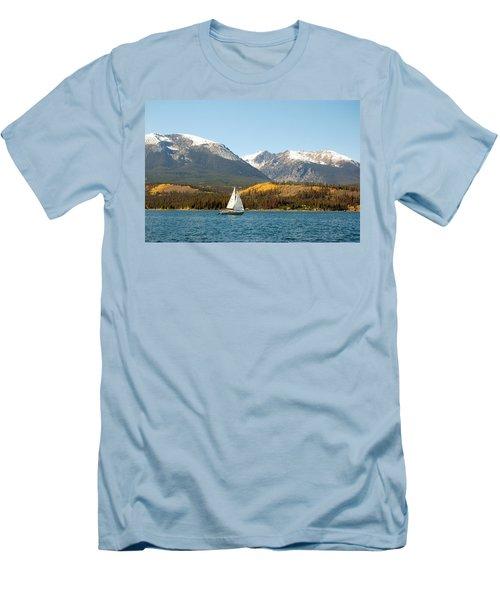 Fall In The Rockies Men's T-Shirt (Slim Fit)