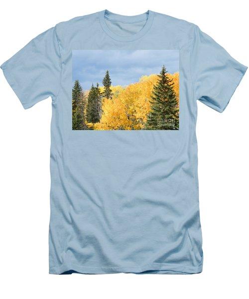Fall Near Ya Ha Tinda Men's T-Shirt (Athletic Fit)