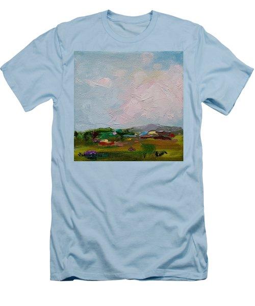 Farmland IIi Men's T-Shirt (Slim Fit) by Judith Rhue