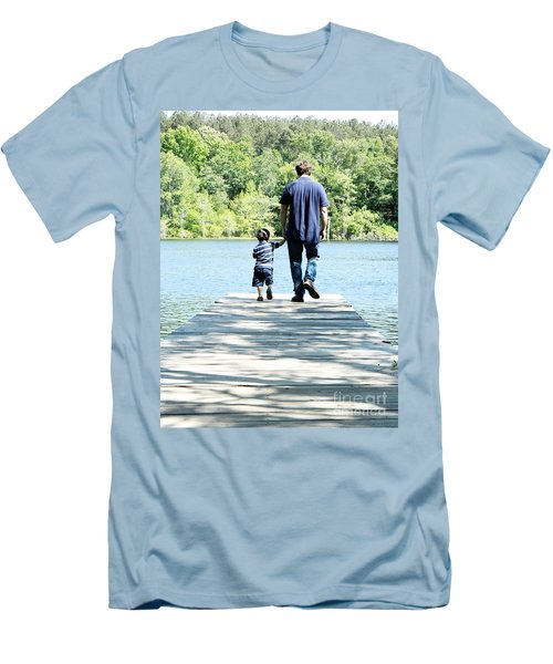 Father And Son Men's T-Shirt (Athletic Fit)