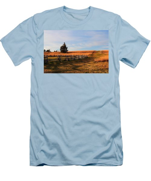 Field Of Shadows Men's T-Shirt (Athletic Fit)