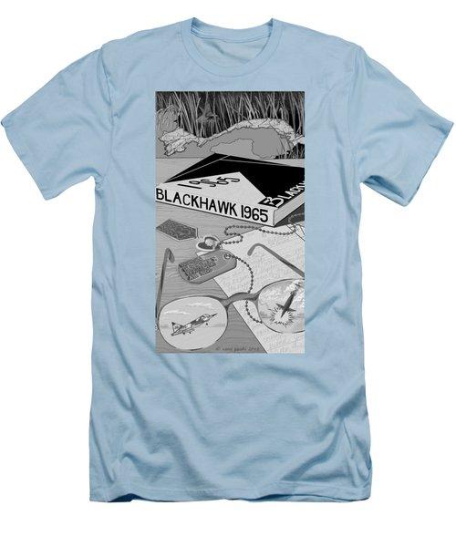 Men's T-Shirt (Slim Fit) featuring the digital art Final Grade by Carol Jacobs