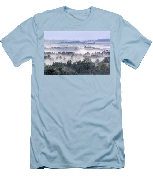 Finger Lakes Morning Men's T-Shirt (Athletic Fit)