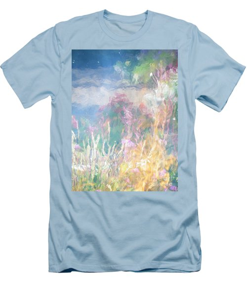 Fireweed Number 9  Men's T-Shirt (Slim Fit) by Brian Boyle