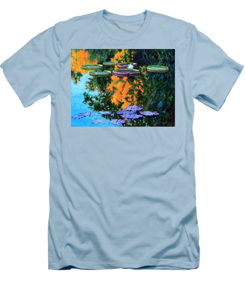 First Signs Of Fall Men's T-Shirt (Slim Fit) by John Lautermilch
