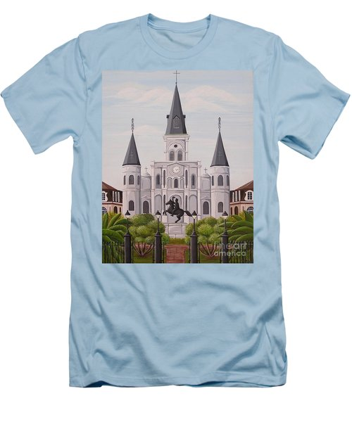 Five Fifteen In New Orleans Men's T-Shirt (Athletic Fit)