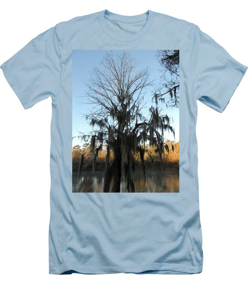 Men's T-Shirt (Slim Fit) featuring the photograph Flint River 13 by Kim Pate