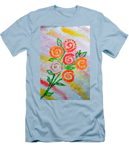 Floralen Traum Men's T-Shirt (Athletic Fit)