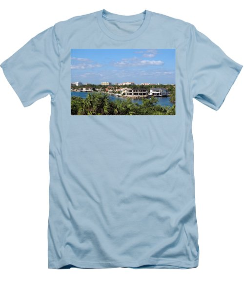 Florida Vacation Men's T-Shirt (Athletic Fit)