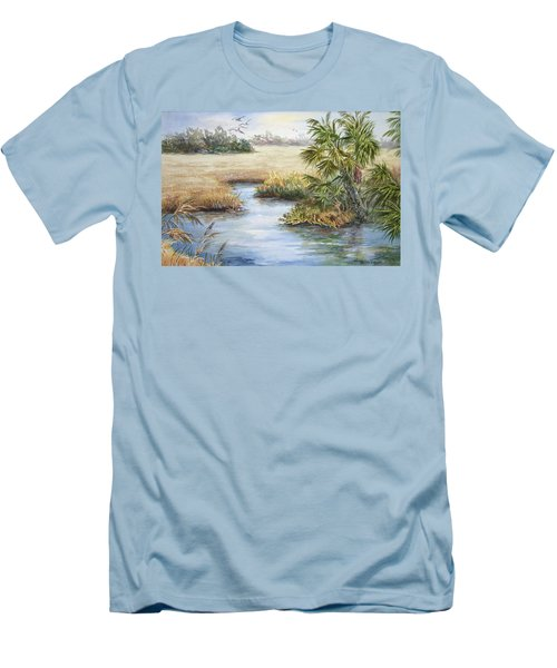 Florida Wilderness IIi Men's T-Shirt (Athletic Fit)