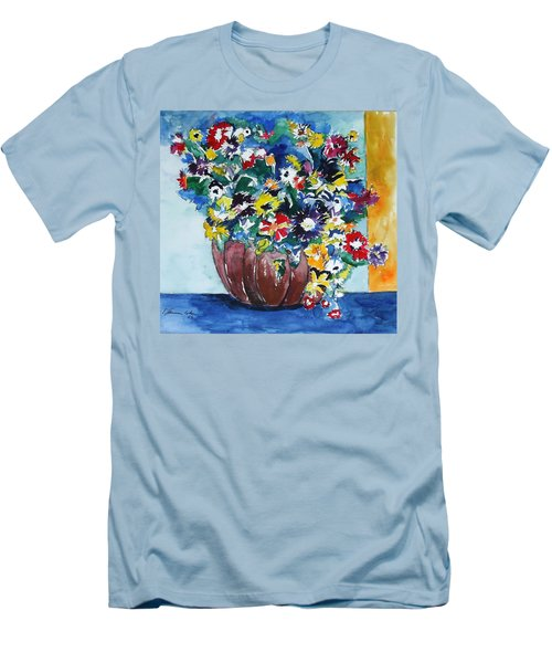 Flower Jubilee Men's T-Shirt (Slim Fit)
