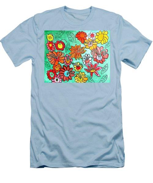 Flower Power Men's T-Shirt (Athletic Fit)