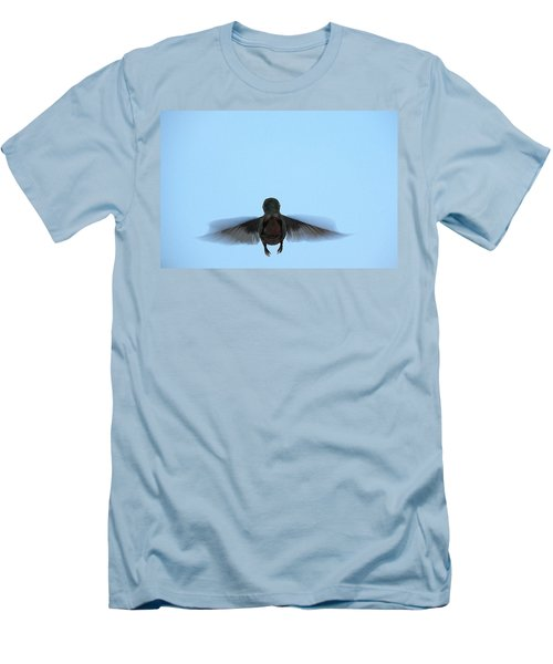 Fly Away Home Little Hummingbird Men's T-Shirt (Athletic Fit)