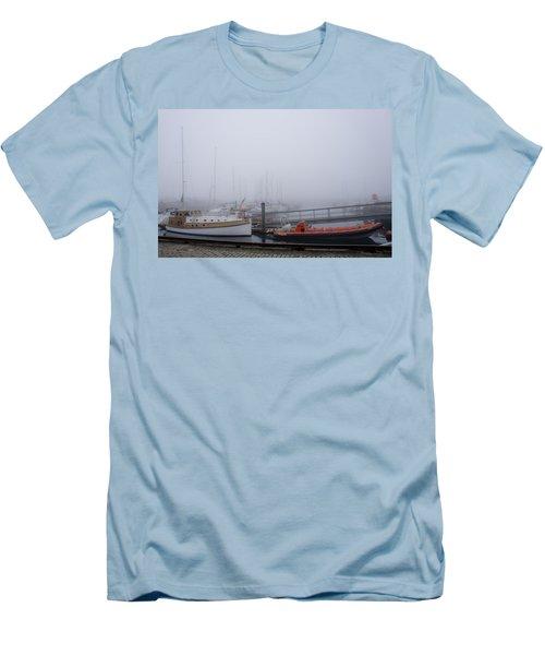 Fog In Marina IIi Men's T-Shirt (Athletic Fit)