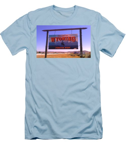 Forever West Men's T-Shirt (Slim Fit) by Chris Tarpening