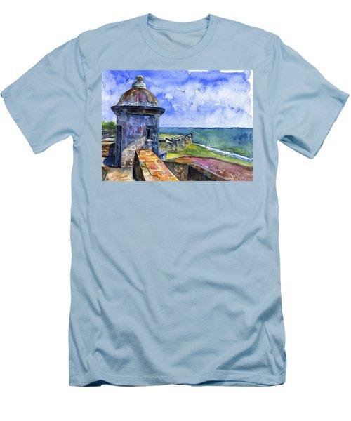 Fort San Juan Puerto Rico Men's T-Shirt (Athletic Fit)