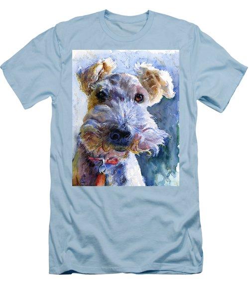 Fox Terrier Full Men's T-Shirt (Athletic Fit)