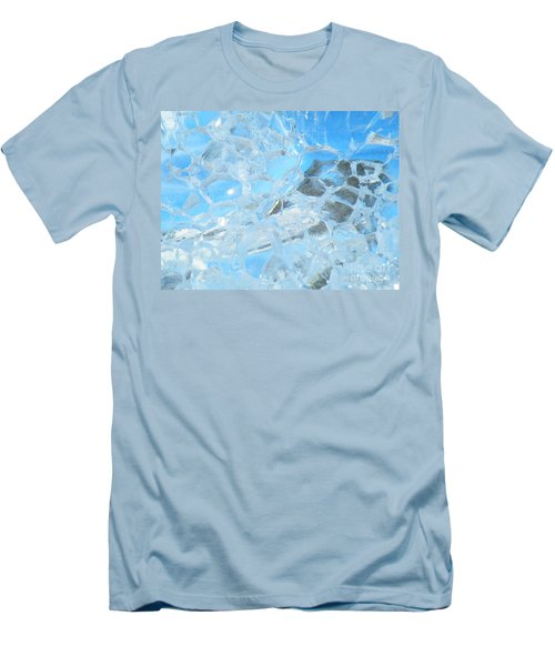 Men's T-Shirt (Slim Fit) featuring the photograph Fracked  by Brian Boyle