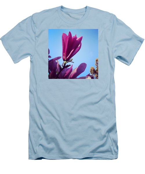 Men's T-Shirt (Slim Fit) featuring the photograph Fragrant Silence by Kerri Farley