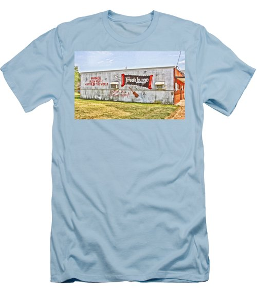 Fred's Lounge Men's T-Shirt (Athletic Fit)