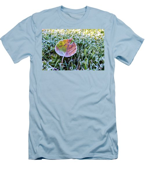 Frostbite Men's T-Shirt (Slim Fit) by Tgchan