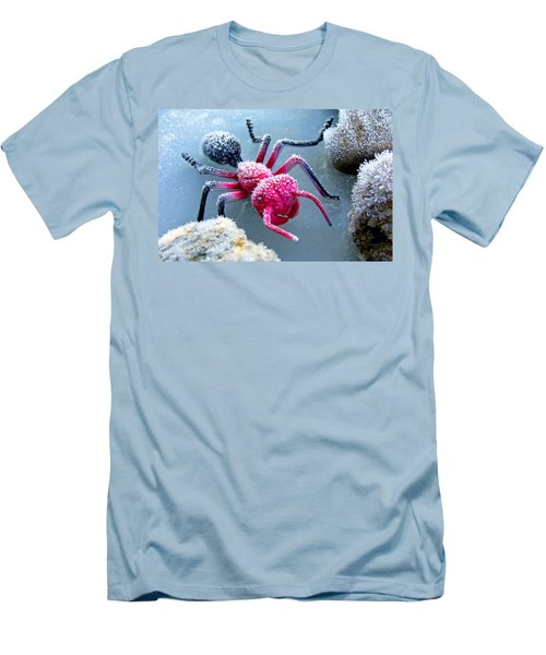 Frosty Ant In Winter Men's T-Shirt (Athletic Fit)