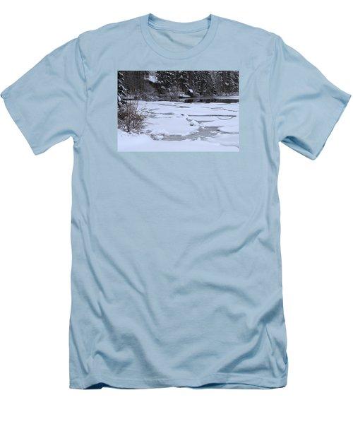 Frozen Silence  Men's T-Shirt (Athletic Fit)