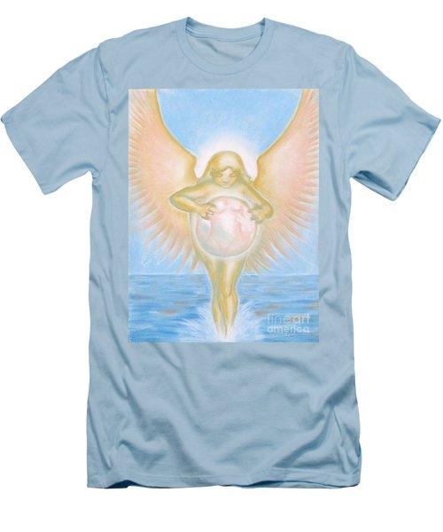 Gift Of The Golden Goddess Men's T-Shirt (Athletic Fit)