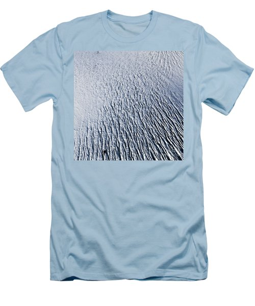 Men's T-Shirt (Slim Fit) featuring the photograph Glacier by Gunnar Orn Arnason
