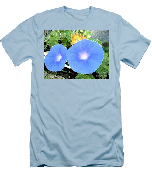 Men's T-Shirt (Slim Fit) featuring the photograph Glory Morn by Ecinja Art Works