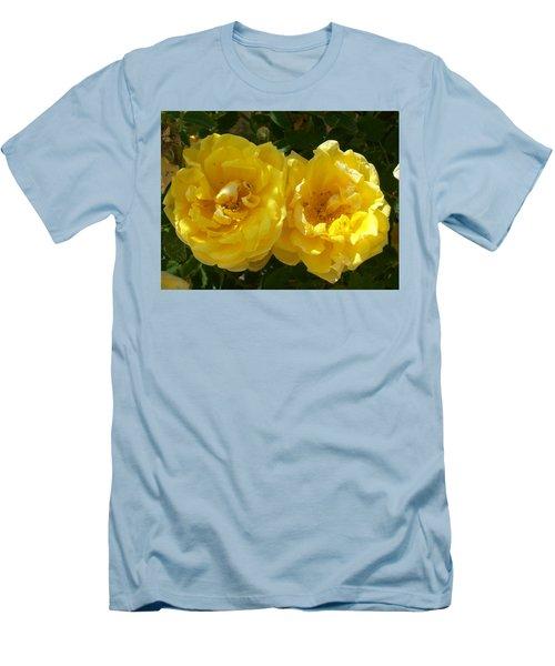 Golden Beauty Men's T-Shirt (Slim Fit) by Jewel Hengen