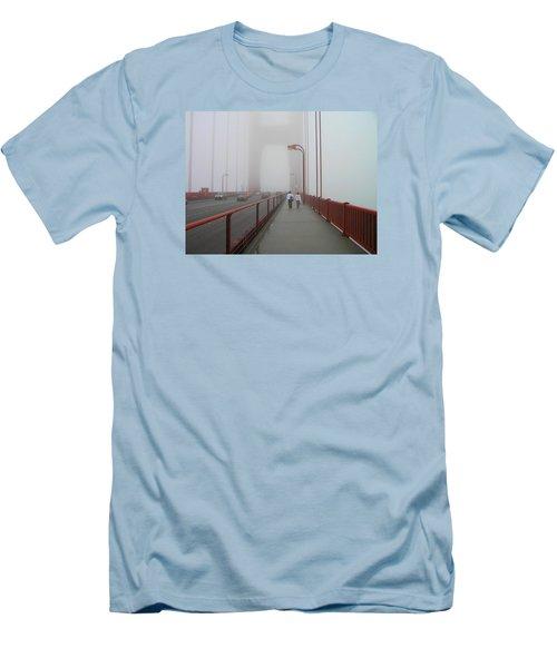 G. G. Bridge Walking Men's T-Shirt (Slim Fit) by Oleg Zavarzin