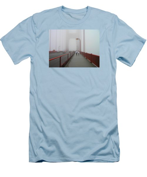 G. G. Bridge Walking Men's T-Shirt (Athletic Fit)