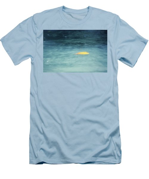 Men's T-Shirt (Slim Fit) featuring the photograph Golden Reflections by Melanie Lankford Photography