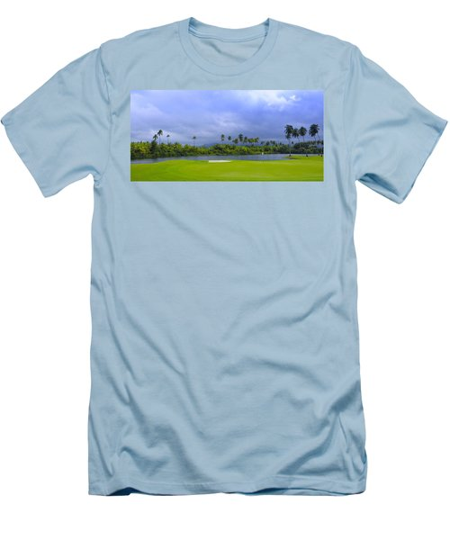 Golfer's Paradise Men's T-Shirt (Athletic Fit)