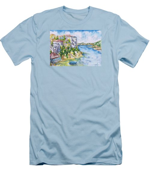 Greek Playground  Men's T-Shirt (Athletic Fit)