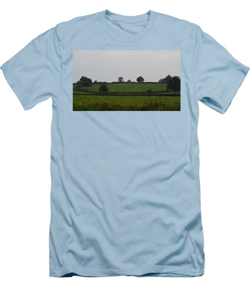 Green Pastures Men's T-Shirt (Athletic Fit)