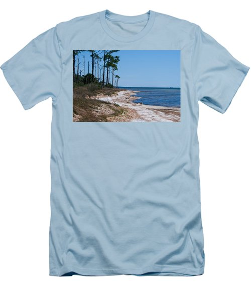 Gulf Island National Seashore 2 Men's T-Shirt (Athletic Fit)