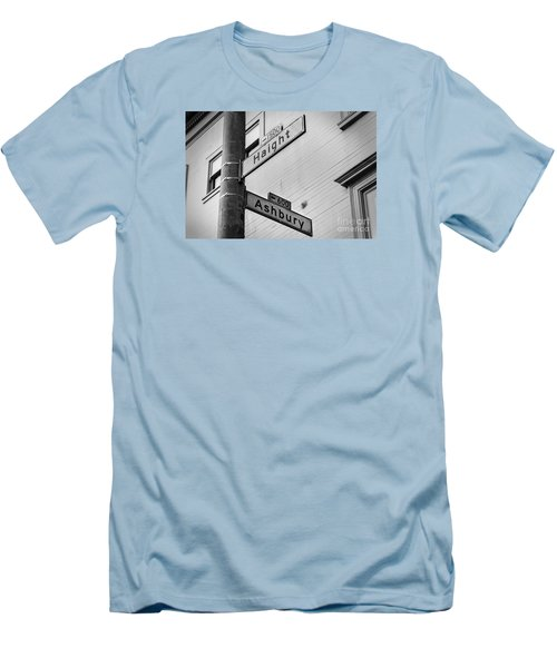 Haight And Ashbury Men's T-Shirt (Slim Fit) by Jerry Fornarotto