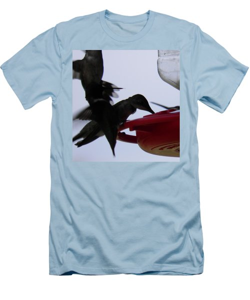 Men's T-Shirt (Slim Fit) featuring the photograph Happy Hour by Nick Kirby