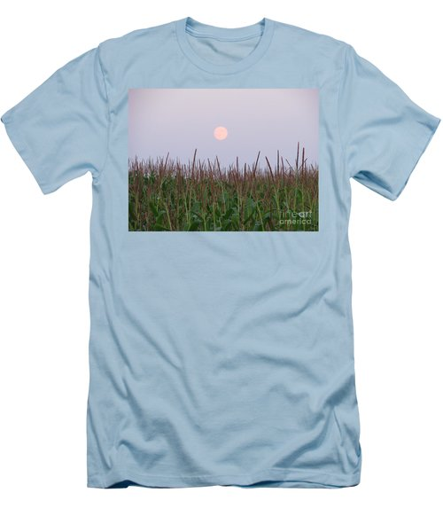 Harvest Moon Men's T-Shirt (Slim Fit) by Michael Krek