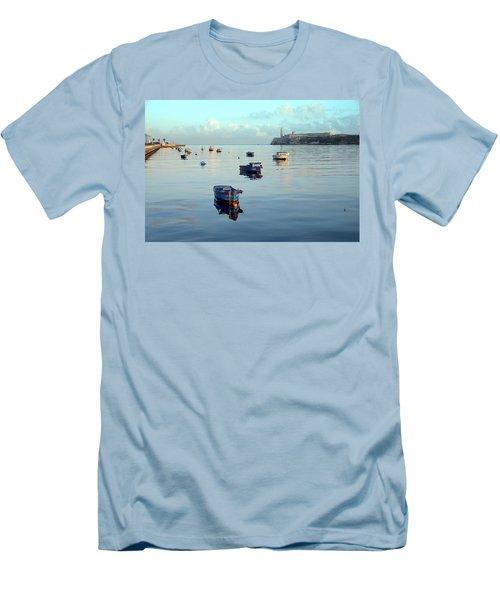 Havana Maritime 2 Men's T-Shirt (Slim Fit) by Steven Richman