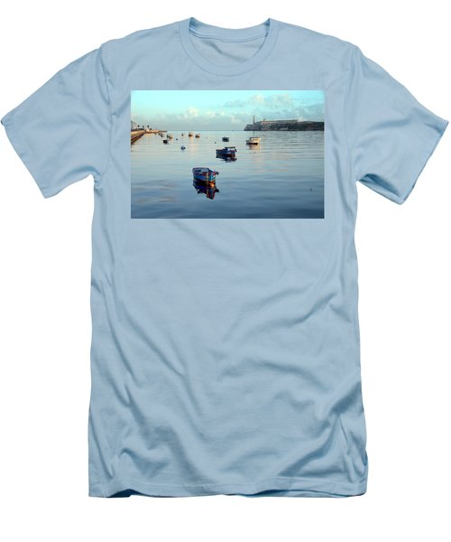 Havana Maritime 2 Men's T-Shirt (Athletic Fit)