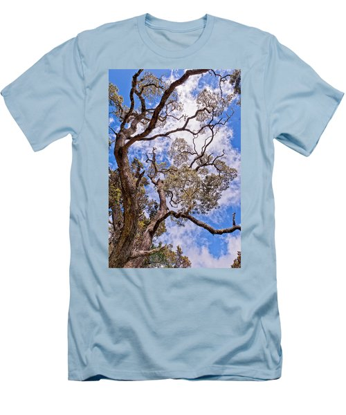 Men's T-Shirt (Slim Fit) featuring the photograph Hawaiian Sky by Jim Thompson