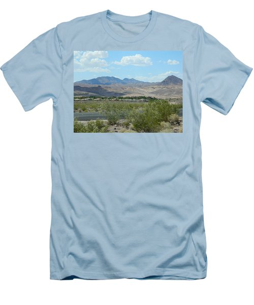 Men's T-Shirt (Slim Fit) featuring the photograph Henderson Nevada Desert by Emmy Marie Vickers