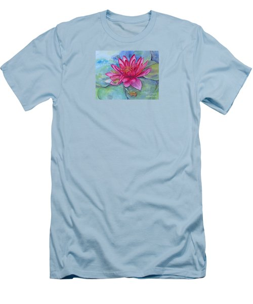 Men's T-Shirt (Slim Fit) featuring the painting Hide And Seek by Beatrice Cloake