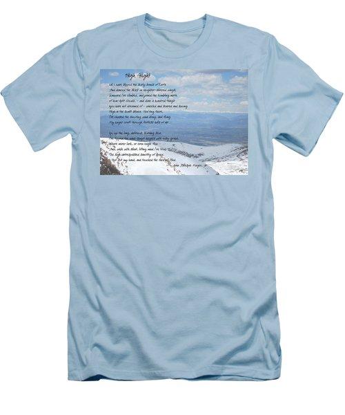 High Flight Men's T-Shirt (Slim Fit) by Paulette B Wright