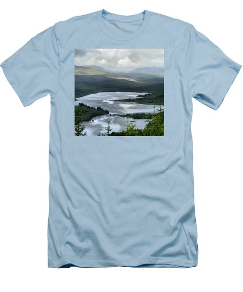 Highland Loch At Lochaber Men's T-Shirt (Athletic Fit)