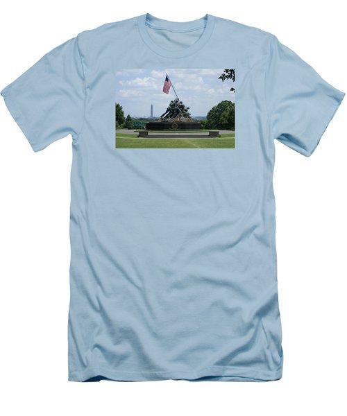 Iwo Jima Men's T-Shirt (Athletic Fit)